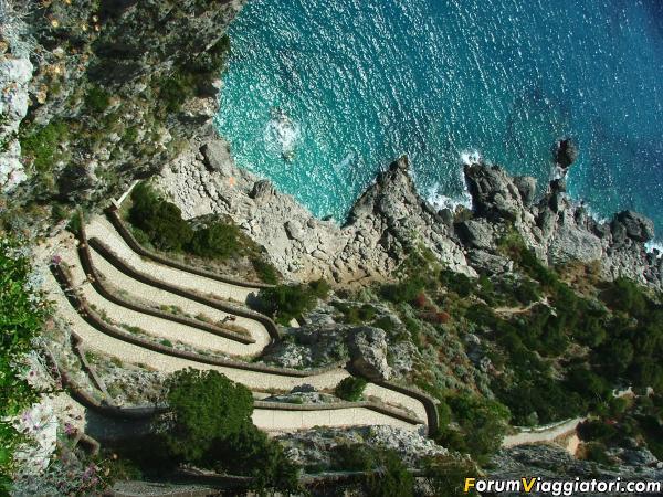 Capri via al mare 2005