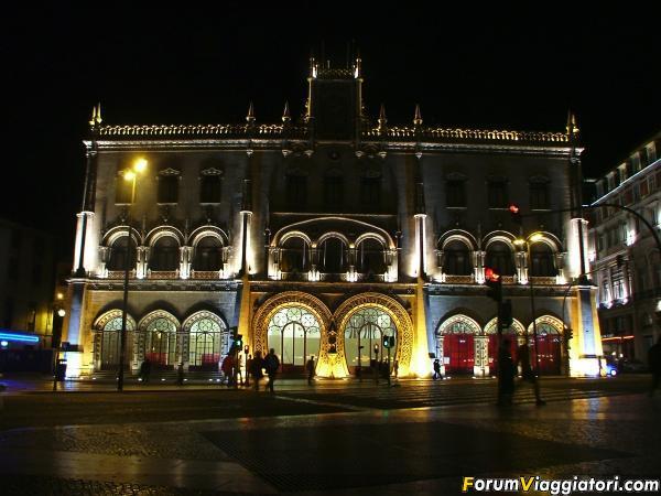 Lisbona stazione del rossio 2005
