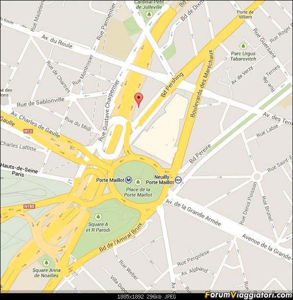 [FRANCIA - Parigi - Aeroporto Beauvais] Navetta bus-parigi-google-maps.jpg
