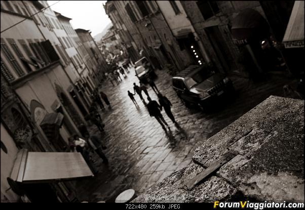 Foto di parecchi anni fa, era il 2007, ero ad Arezzo e avevo smesso di piovere da dieci minuti...