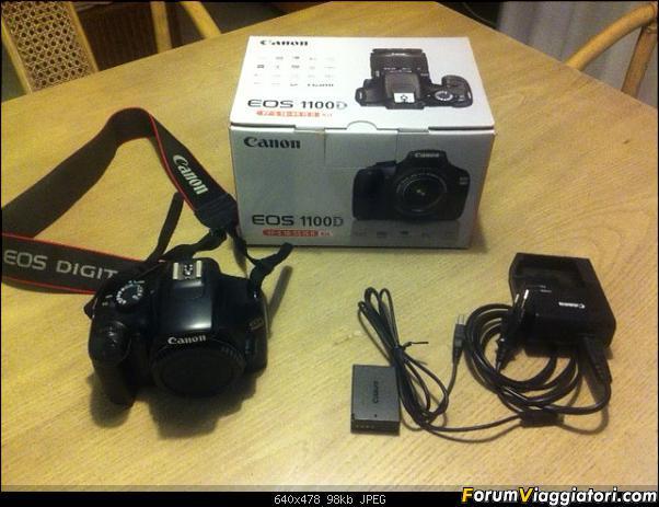 Vendo reflex Canon 1100D - Solo corpo macchina-foto-1.jpg