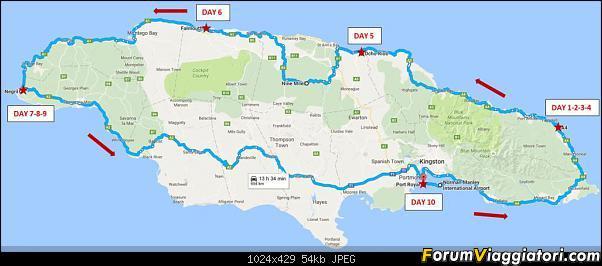 10 Giorni in Jamaica con auto a noleggio-percorso.jpg