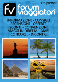 Forum Viaggi: diari, fotografie, consigli di viaggio e recensioni Hotel, ristoranti, parcheggi, voli, autonoleggio